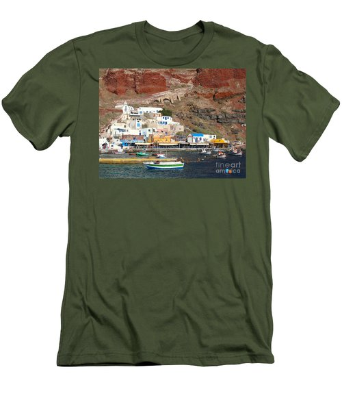 Amoudi Bay Men's T-Shirt (Athletic Fit)