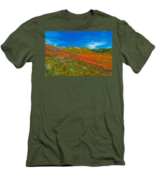 An Ocean Of Orange  Men's T-Shirt (Athletic Fit)