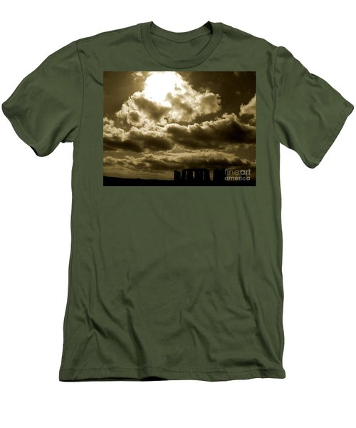 Men's T-Shirt (Slim Fit) featuring the photograph Ancient Mystery by Vicki Spindler
