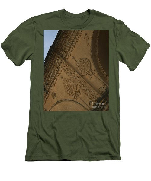 Men's T-Shirt (Slim Fit) featuring the photograph Ancient Wall by Mini Arora