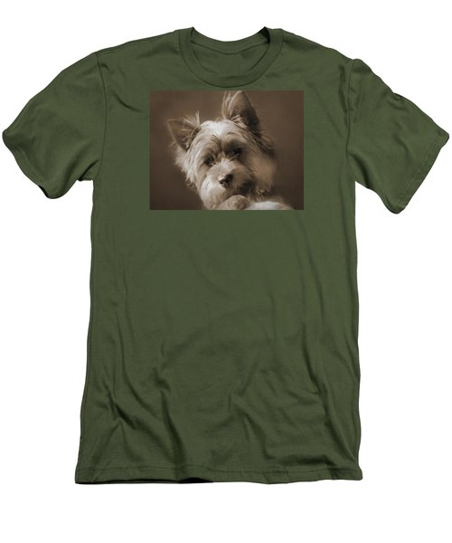 Men's T-Shirt (Slim Fit) featuring the photograph And The Little Princess by I'ina Van Lawick