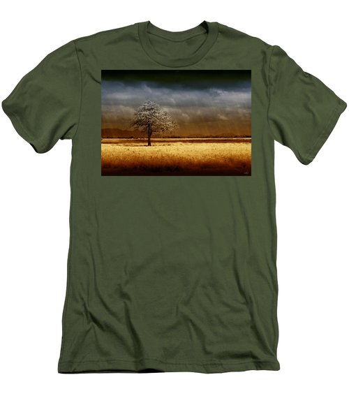 And The Rains Came Men's T-Shirt (Slim Fit) by Holly Kempe