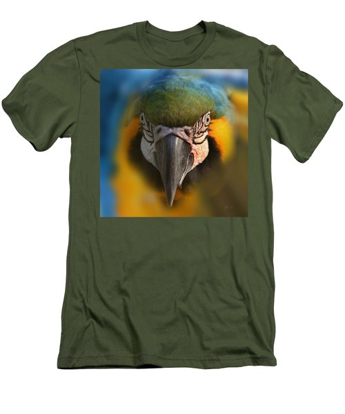 Angry Bird 2 Men's T-Shirt (Athletic Fit)