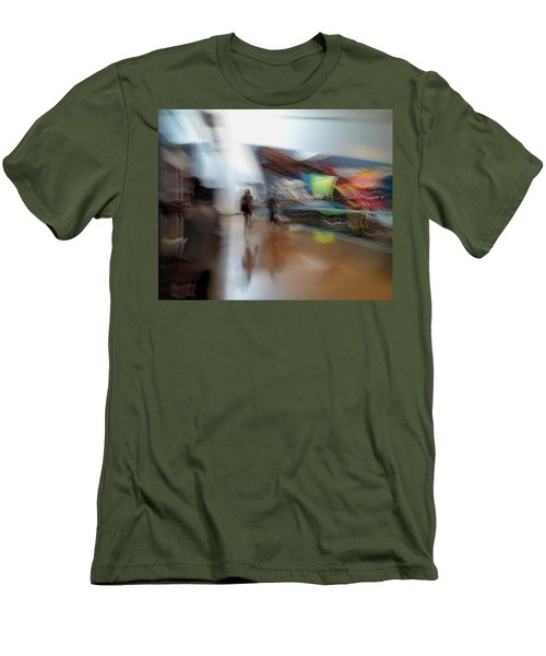 Men's T-Shirt (Slim Fit) featuring the photograph Angularity by Alex Lapidus
