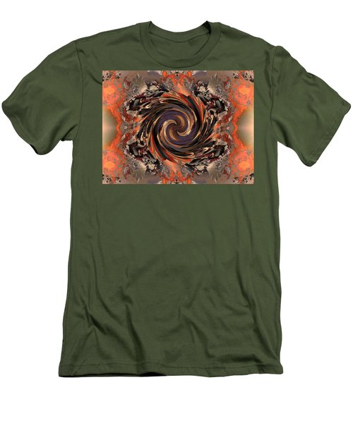 Another Swirl Men's T-Shirt (Slim Fit) by Claude McCoy