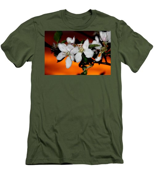 Apple Blossom Sunrise I Men's T-Shirt (Athletic Fit)