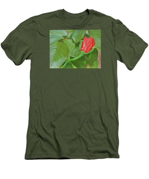 Arboretum Rose Men's T-Shirt (Athletic Fit)