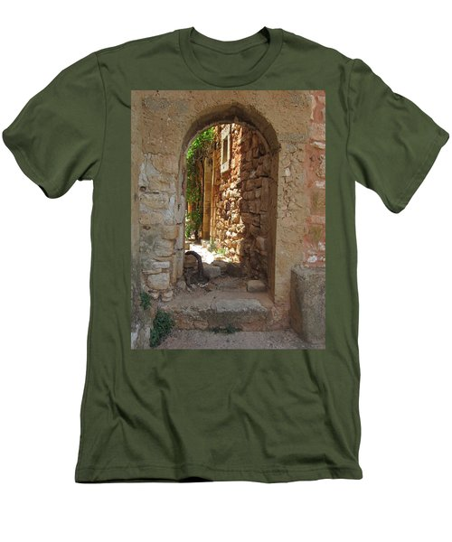 Men's T-Shirt (Slim Fit) featuring the photograph Archway by Pema Hou