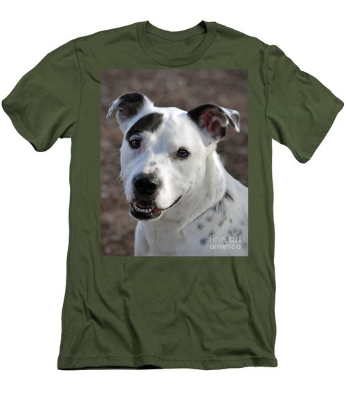 Men's T-Shirt (Slim Fit) featuring the photograph Are You Looking At Me? by Savannah Gibbs