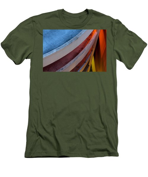 Men's T-Shirt (Slim Fit) featuring the photograph Around And Down by Greg Allore