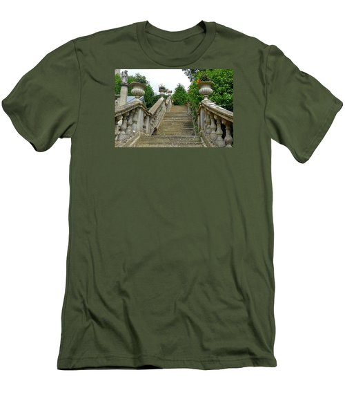 Ascending Garden Men's T-Shirt (Athletic Fit)