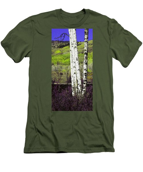 Aspens 4 Men's T-Shirt (Athletic Fit)