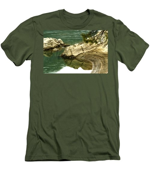 At The Waters Edge Men's T-Shirt (Athletic Fit)