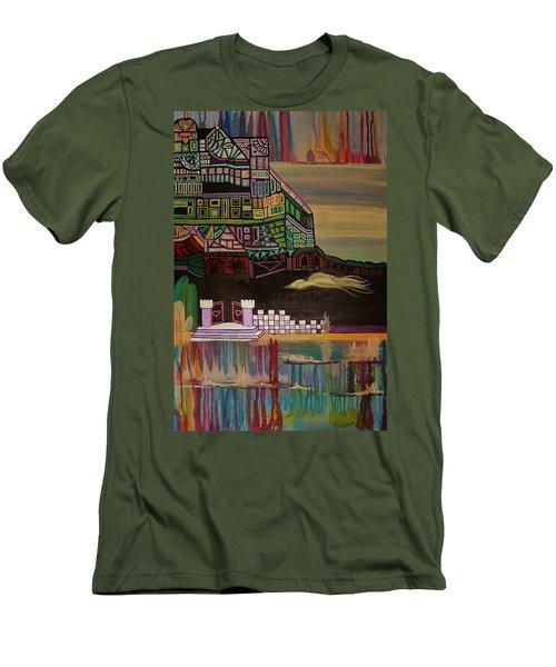 Atlantis Men's T-Shirt (Slim Fit) by Barbara St Jean