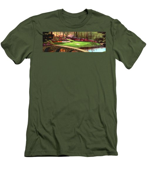 Augustas 12 Hole 28x9 Men's T-Shirt (Slim Fit)