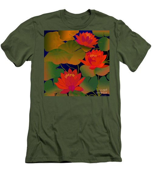 Aura Men's T-Shirt (Slim Fit) by Latha Gokuldas Panicker