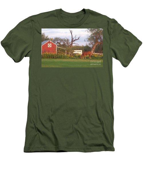 Autumn Abundance Men's T-Shirt (Slim Fit) by Susan Williams