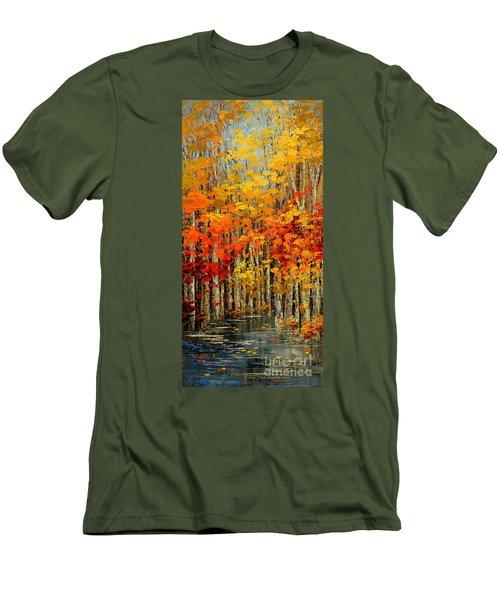 Autumn Banners Men's T-Shirt (Athletic Fit)
