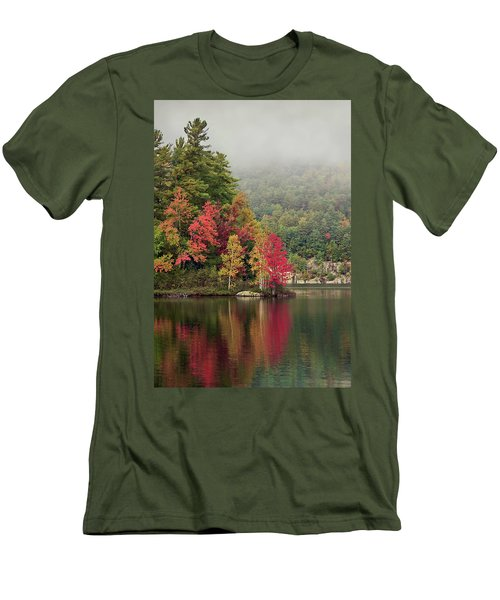 Autumn Breath Men's T-Shirt (Athletic Fit)