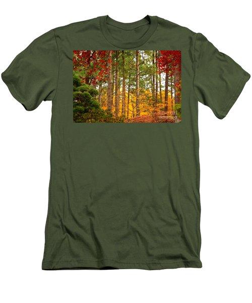 Autumn Canvas Men's T-Shirt (Slim Fit)