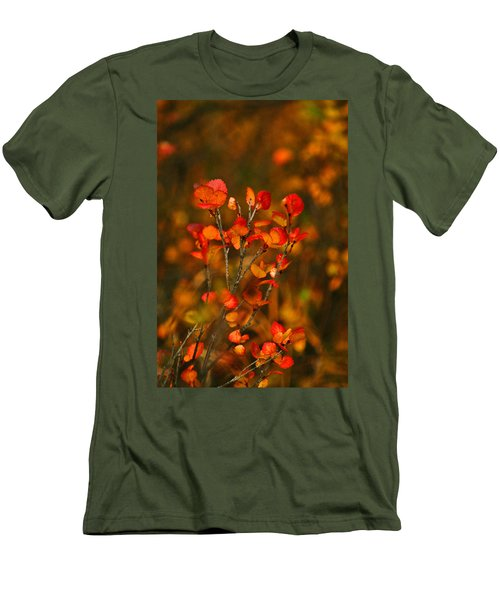 Autumn Emblem Men's T-Shirt (Athletic Fit)