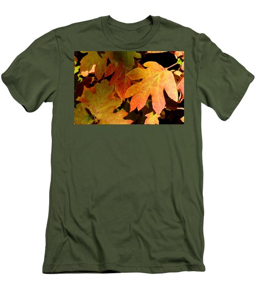 Autumn Hues Men's T-Shirt (Athletic Fit)