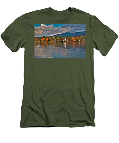 Autumn In Melvin Village Men's T-Shirt (Athletic Fit)