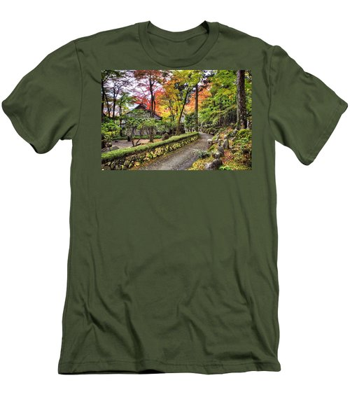 Autumn Walk Men's T-Shirt (Athletic Fit)