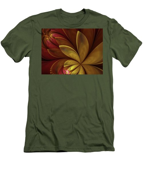 Autumn Plant Men's T-Shirt (Athletic Fit)