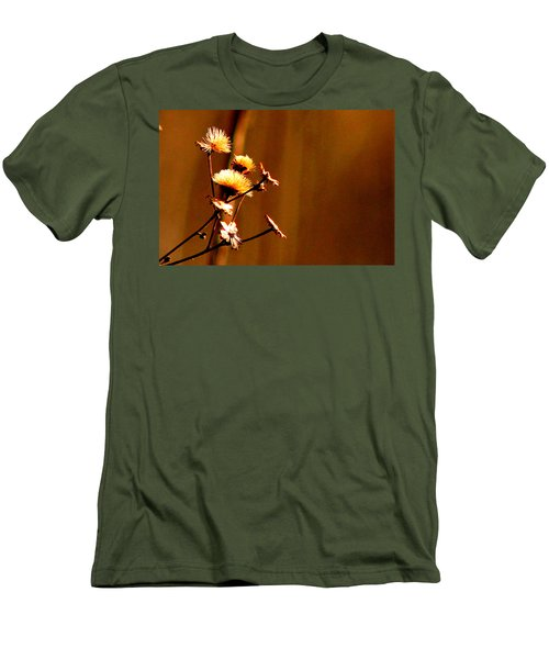 Men's T-Shirt (Slim Fit) featuring the photograph Autumn's Moment by Bruce Patrick Smith