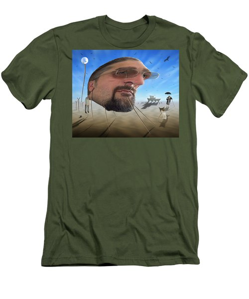 Awake . . A Sad Existence Men's T-Shirt (Slim Fit) by Mike McGlothlen