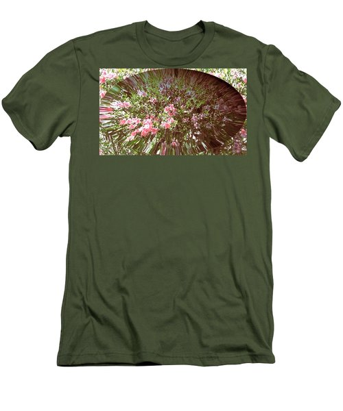 Azalea Bouquet Men's T-Shirt (Athletic Fit)