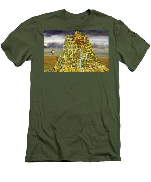 Babel Men's T-Shirt (Athletic Fit)