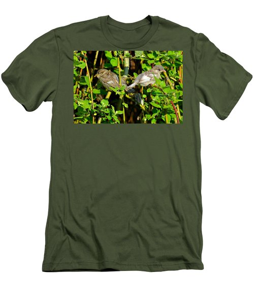 Babies Afraid To Fly Men's T-Shirt (Slim Fit) by Frozen in Time Fine Art Photography