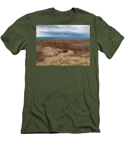 Badlands South Dakota Men's T-Shirt (Athletic Fit)