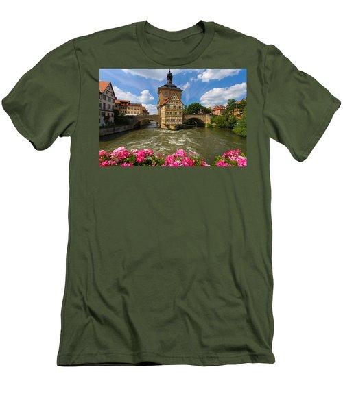 Bamberg Bridge Men's T-Shirt (Athletic Fit)