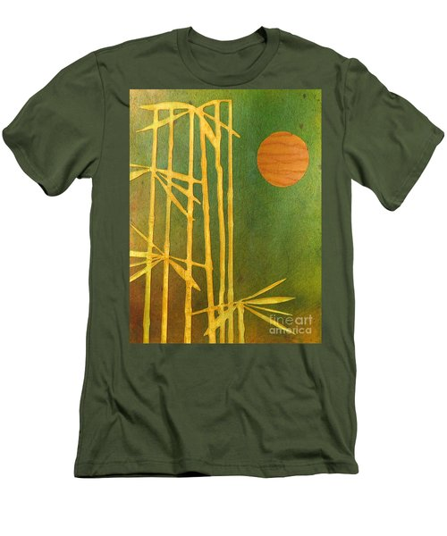 Bamboo Moon Men's T-Shirt (Athletic Fit)