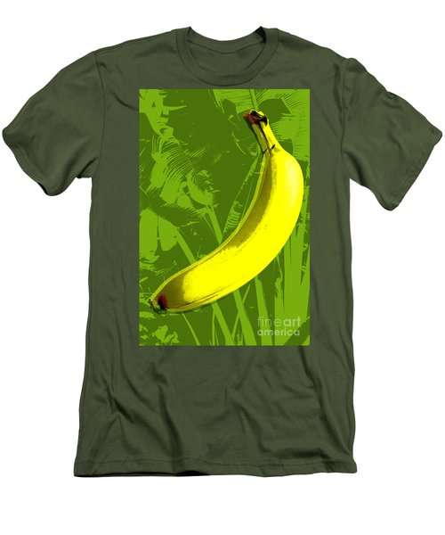 Banana Pop Art Men's T-Shirt (Athletic Fit)