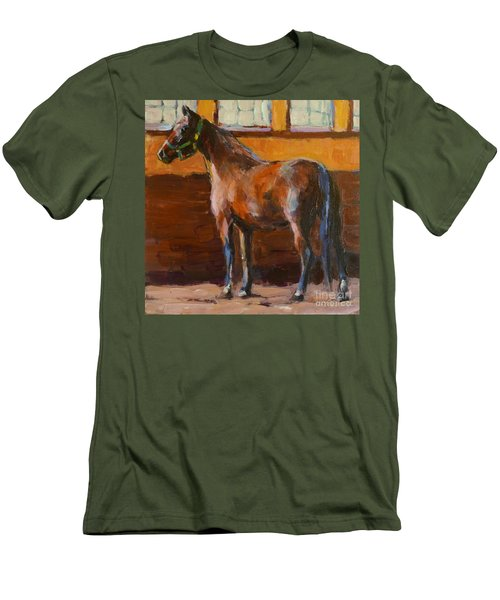 Barnlight Men's T-Shirt (Slim Fit) by Molly Poole