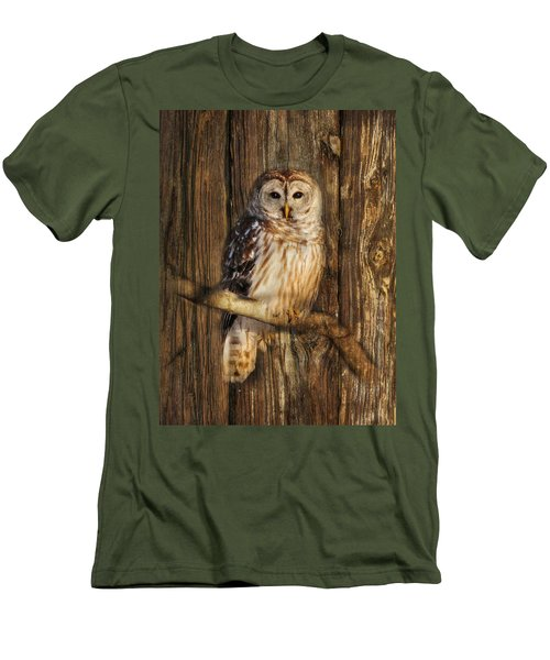Barred Owl 1 Men's T-Shirt (Athletic Fit)