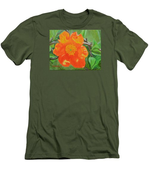 Basking In The Sun Men's T-Shirt (Slim Fit) by Donna  Manaraze