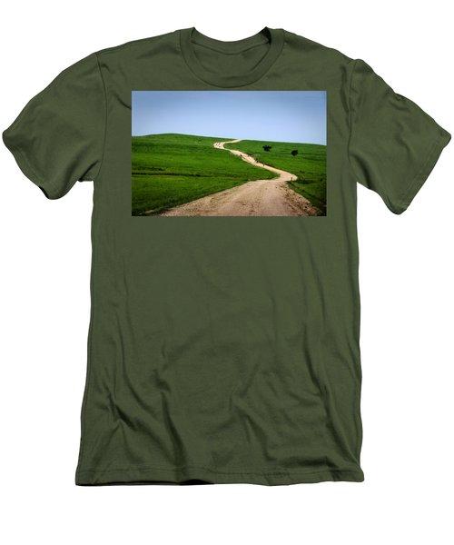 Battle Creek Road Teamwork Men's T-Shirt (Athletic Fit)