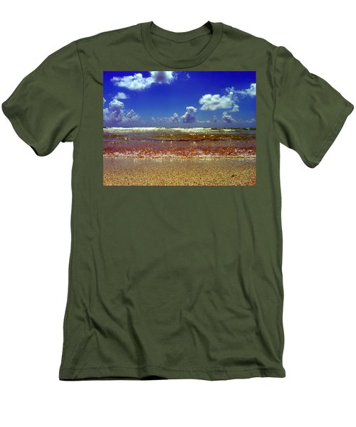 Men's T-Shirt (Slim Fit) featuring the photograph Beach by J Anthony