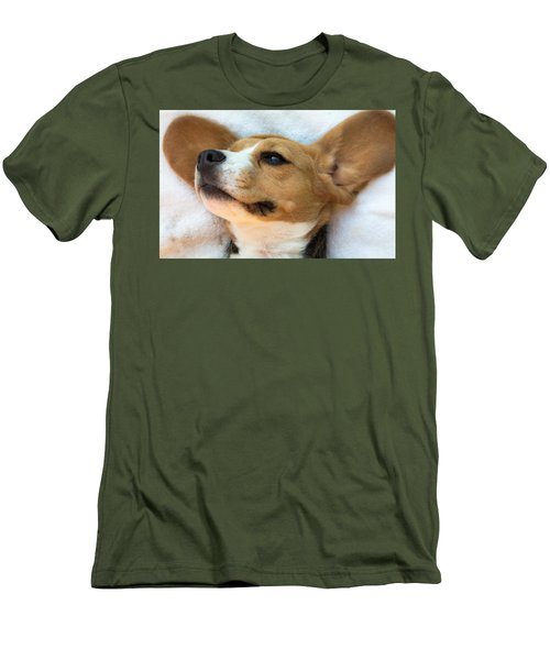 Beagles Dreams Men's T-Shirt (Athletic Fit)