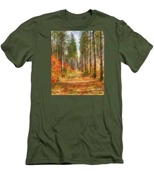 Beautiful Autumn Men's T-Shirt (Athletic Fit)
