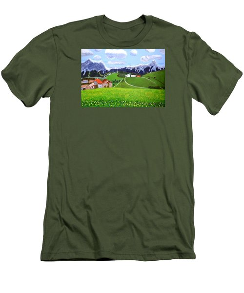 Beautiful Norway Men's T-Shirt (Slim Fit) by Magdalena Frohnsdorff