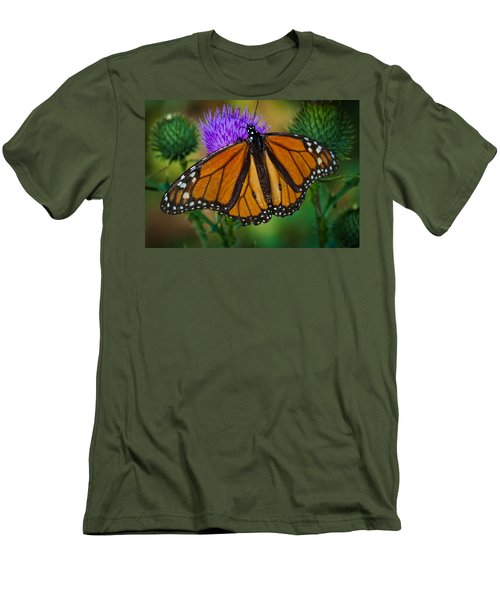 Men's T-Shirt (Slim Fit) featuring the photograph Beautifully Aged by Cheryl Baxter