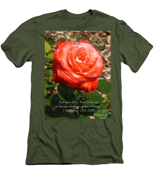 Beauty At Its Best Men's T-Shirt (Slim Fit) by Sara  Raber