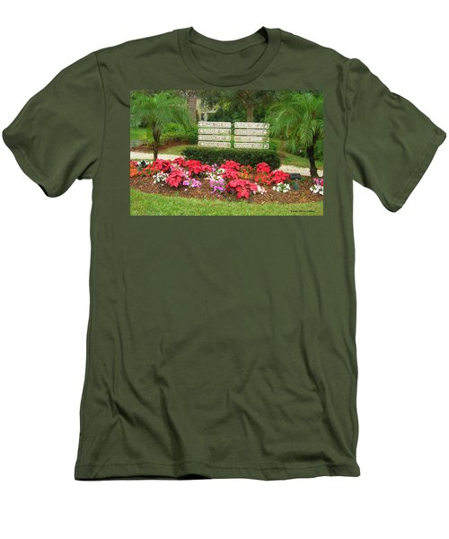Beauty At Pelican Cove Men's T-Shirt (Athletic Fit)