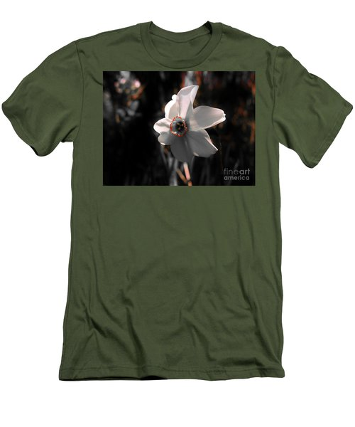 Men's T-Shirt (Slim Fit) featuring the photograph Beauty In The Woods by Sherman Perry